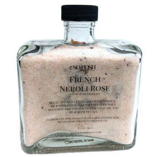 French Neroli Rose Bath Crystals