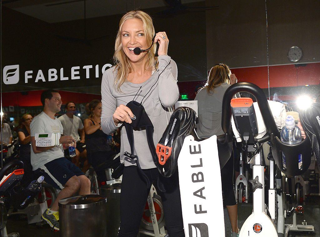 JustFab Inc And Kate Hudson Celebrate The Launch Of Fabletics At Equinox Sports Club