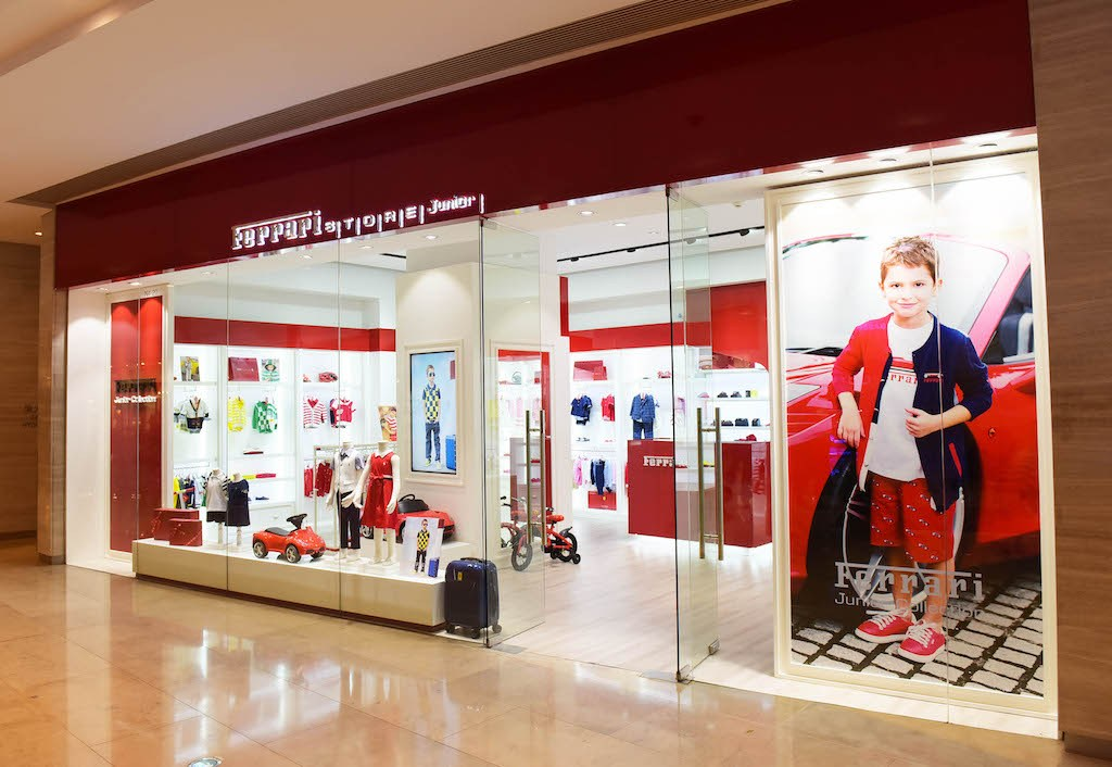 children's Ferrari store