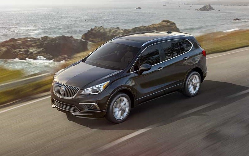 View of the 2017 Envision in black