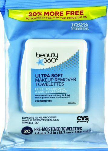 CVS Makeup Remover Cleansing Cloth Towelettes