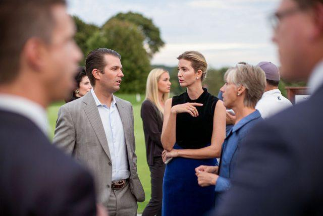Ivanka and Eric Trump at the 9th Annual Eric Trump Foundation Golf Invitational Auction & Dinner