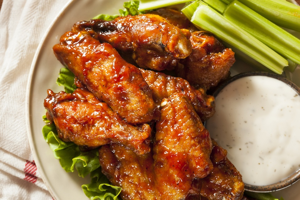 Barbecue Buffalo Chicken Wings