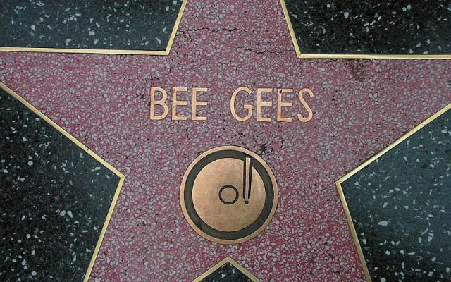Bee Gees Walk of Fame star