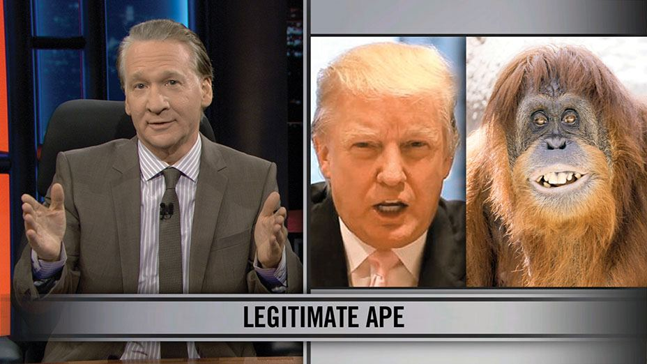 The comparison that landed Bill Maher in court versus the Donald