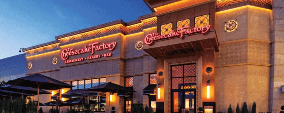 The Cheesecake Factory restaurant
