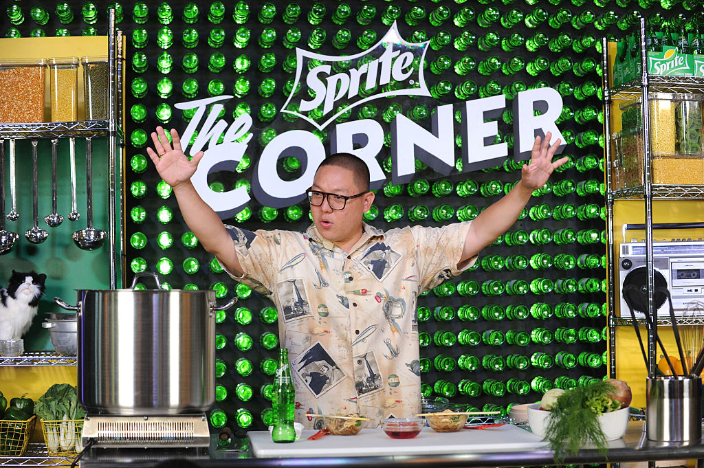 Cooking With Eddie Huang At The Sprite Corner