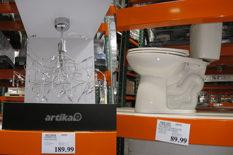 Home improvement goods at Costco