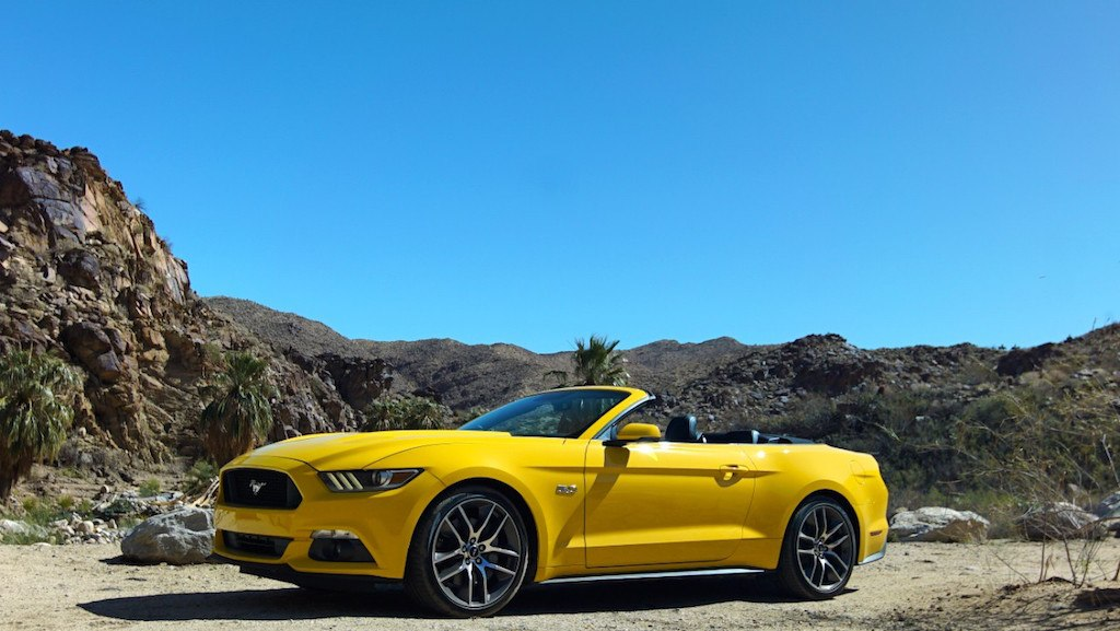 2017 Ford Mustang GT convertible