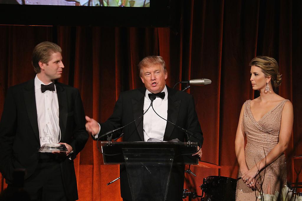 Eric, Donald, and Ivanka Trump