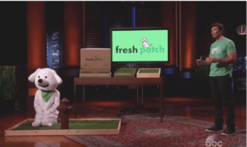 Fresh Patch pitch on Shark Tank