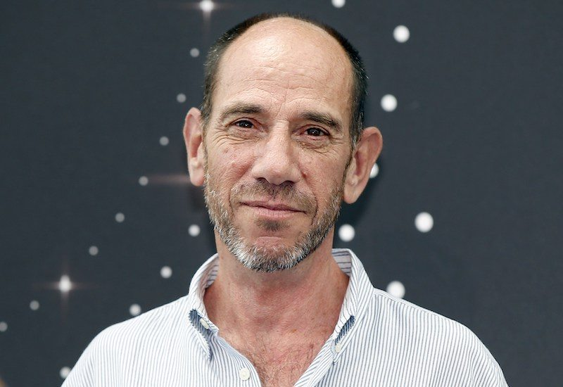 US actor Miguel Ferrer poses during a photocall for the TV show