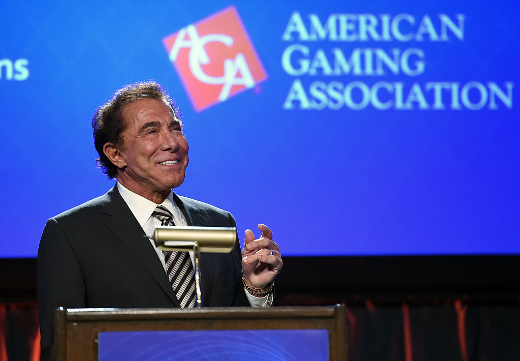 Wynn Resorts Chairman and CEO Steve Wynn speaks at the Global Gaming Expo (G2E) 2014 at The Venetian Las Vegas