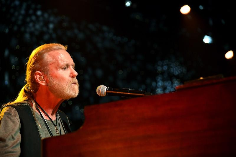 Gregg Allman performs onstage at One More For The Fans!