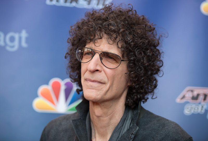 "Howard Stern arrives at the ""America's Got Talent"" Season 10 Red Carpet Event"