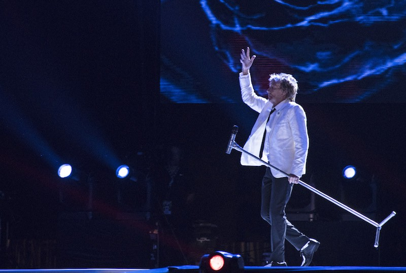 Rod Stewart performs at 2015 Rock in Rio on September 20, 2015