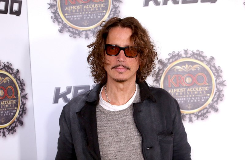 Musician Chris Cornell attends 106.7 KROQ Almost Acoustic Christmas 2015