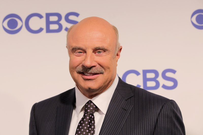 Dr. Phil attends the 2016 CBS Upfront at The Plaza