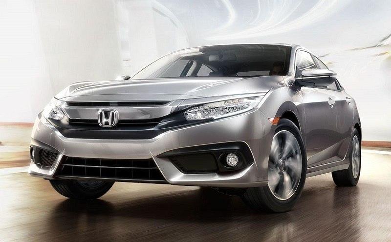 Silver Honda Civic sedan