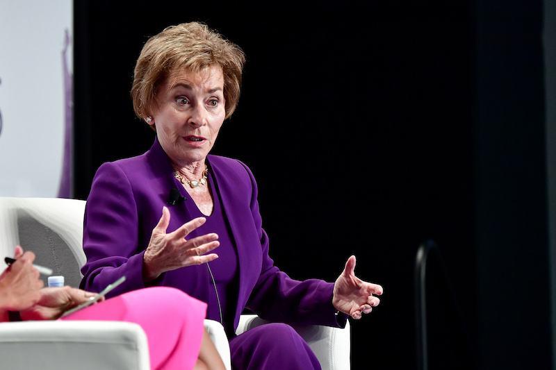 Judge Judy Sheindlin attends the 2017 Forbes Women's Summit
