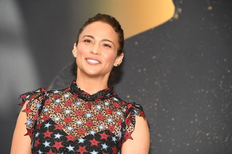 Paula Patton from' 'Somewhere Between' attends a photo call during the 57th Monte Carlo TV Festival