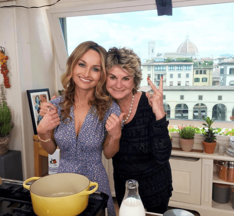 Giada De Laurentiis and her aunt Raffy