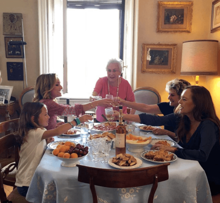 Giada and family