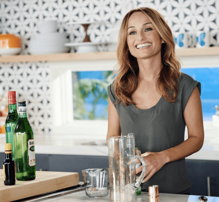 Giada De Laurentiis in a kitchen