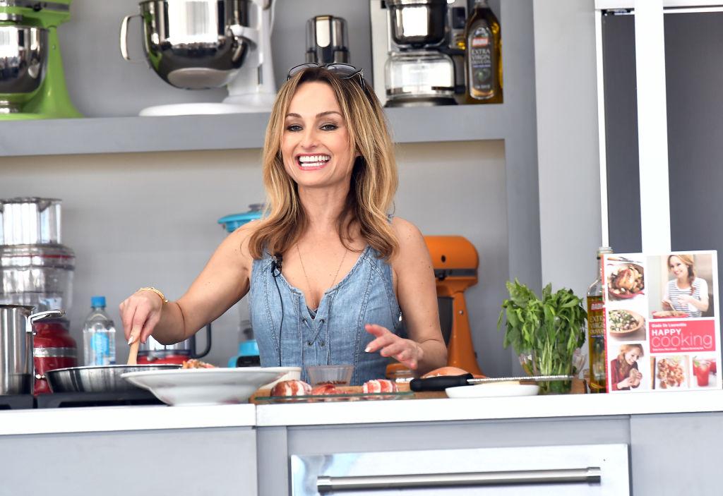 Chef Giada De Laurentiis cooking