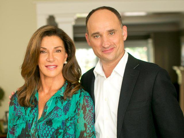 Hillary Farr and David Visentin of'Love It or List It'.