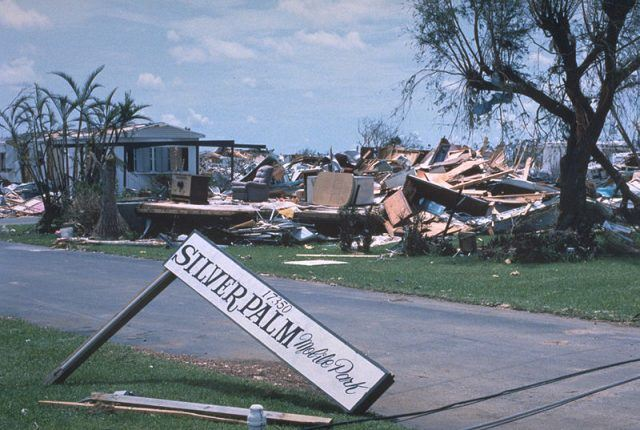 damage from Hurricane Andrew