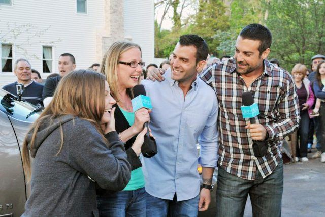 Different celebrity chefs on tv