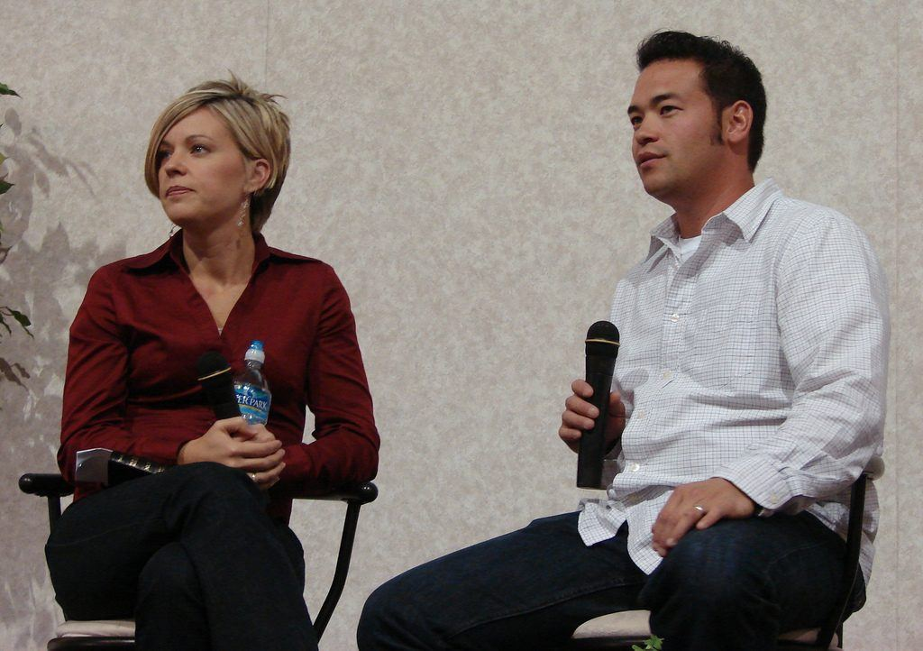 John and Kate Gosselin from 'John and Kate Plus 8'