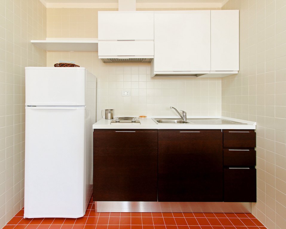 Kitchenette with all appliances