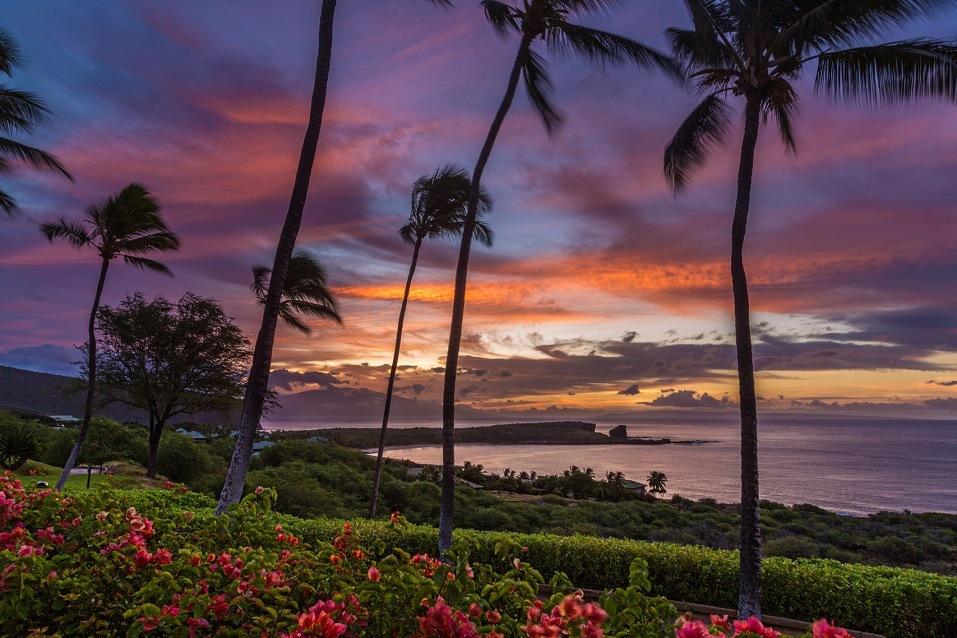 Sunrise over Menele Bay