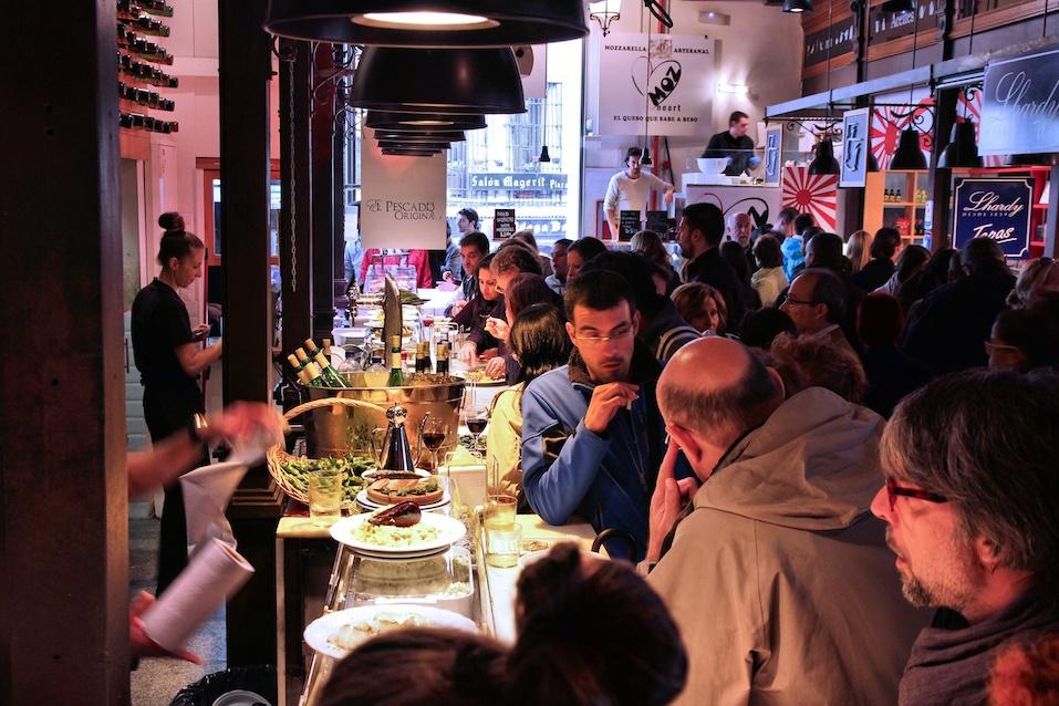Madrid - Mercado San Miguel