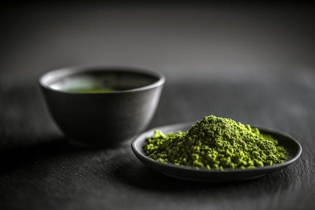 Matcha is much healthier than soda.