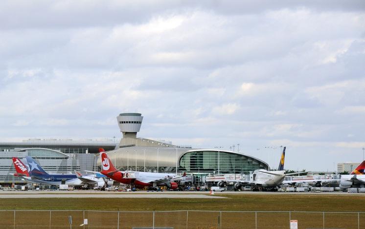 Miami airport terminal