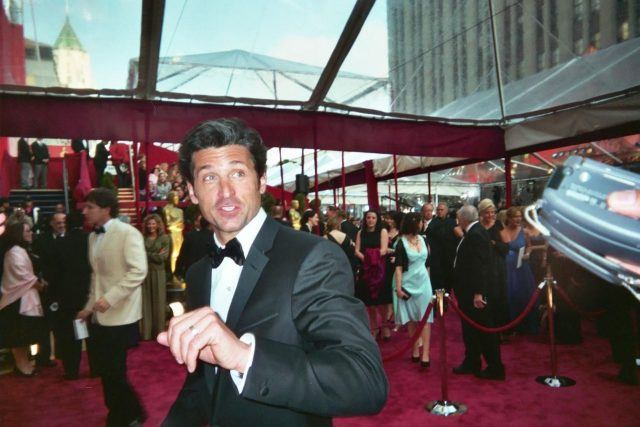 Actor Patrick Dempsey on a red carpet