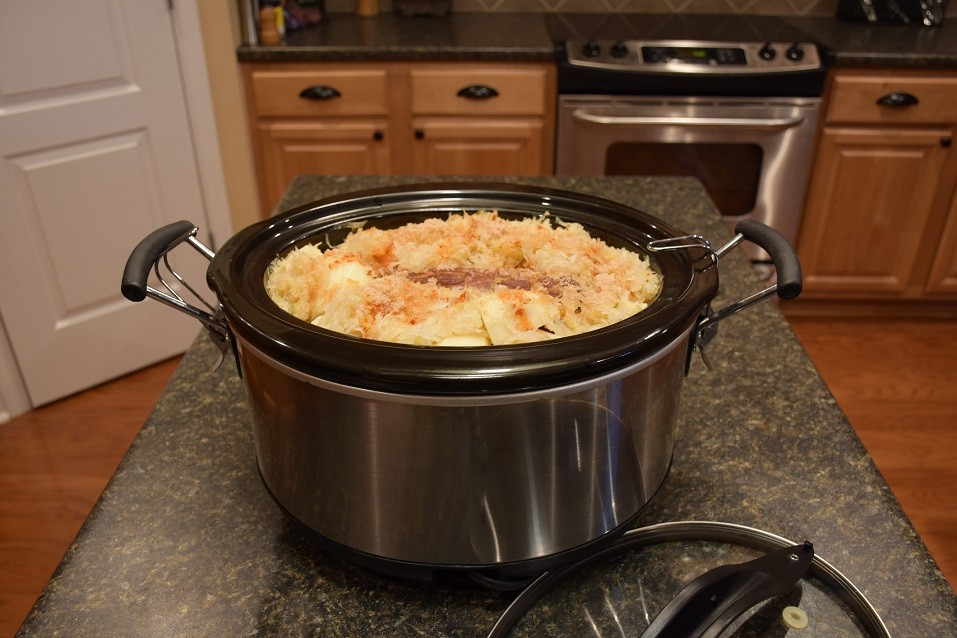meal in slow cooker