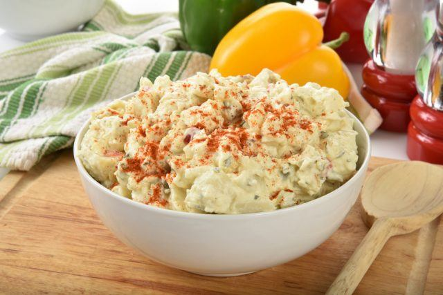 Potato salad is a side dish you can probably do without.