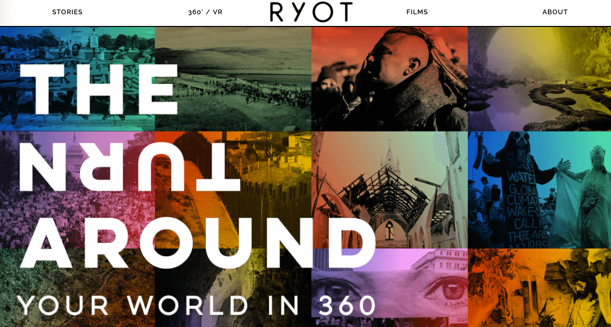 RYOT project page: The Turn Around
