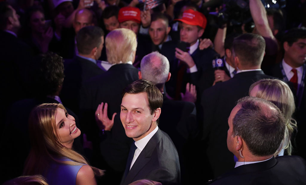 Jared Kushner at an election event