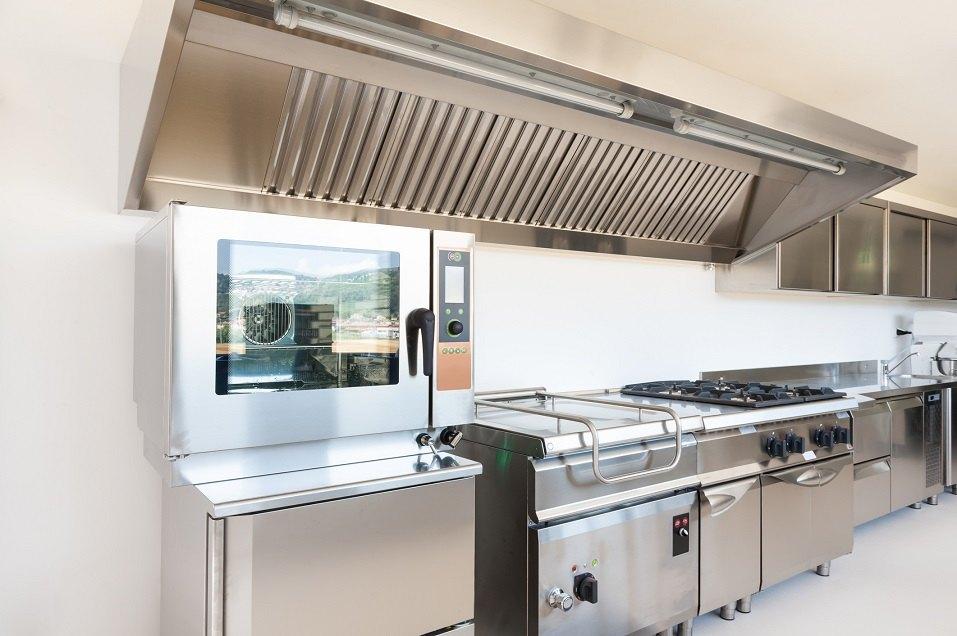 kitchen in modern building