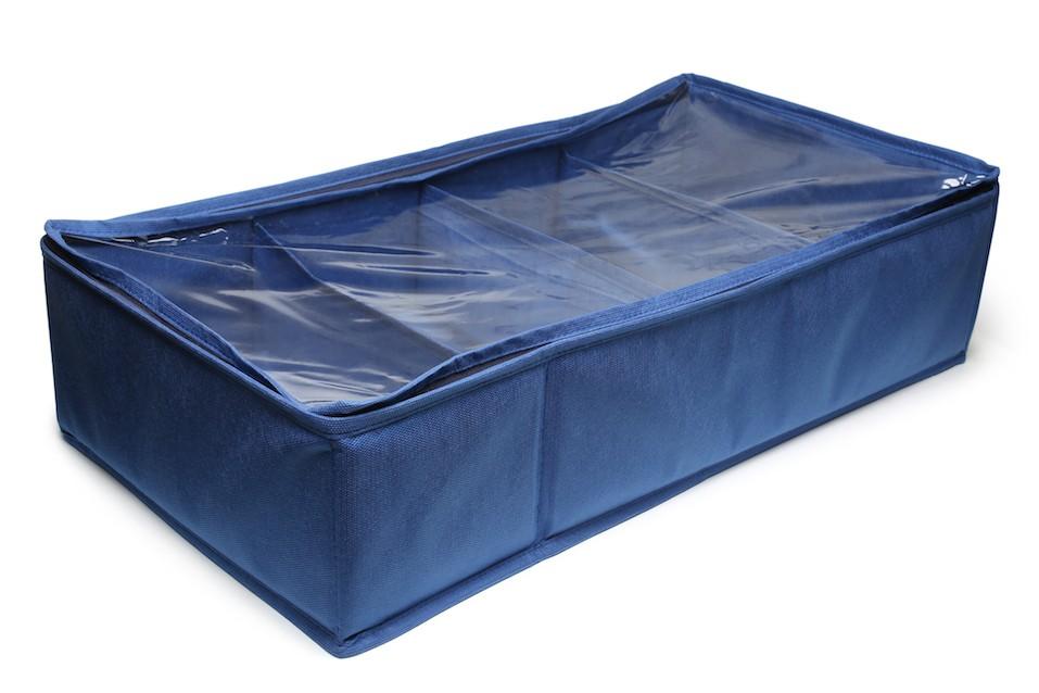 Textile storage box
