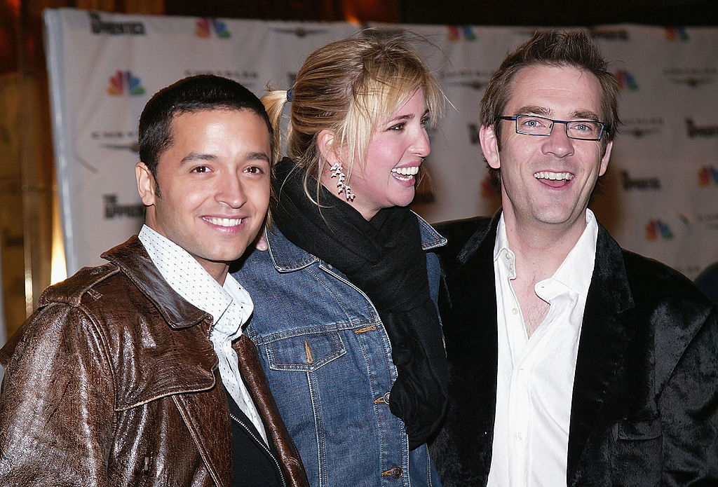 Ivanka Trump poses with Jai Rodriguez and Ted Allen