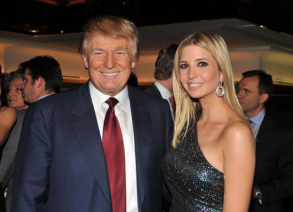 Donald and Ivanka Trump