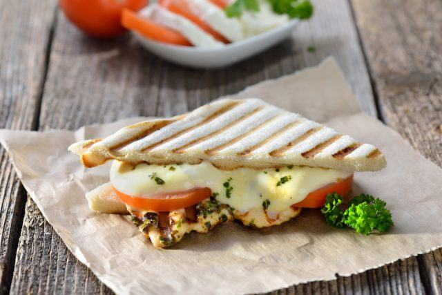 This is one of Starbucks's healthiest lunch sandwiches.