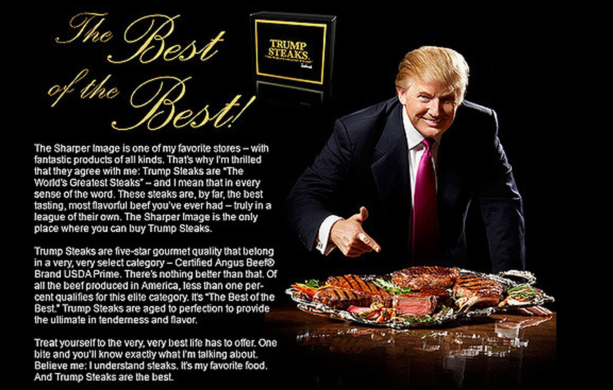 Trump Steaks ad