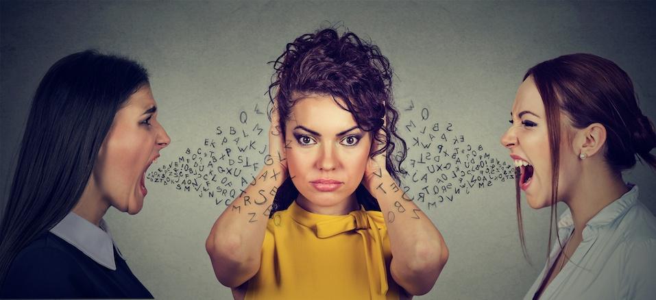 Anger management emotional intelligence concept